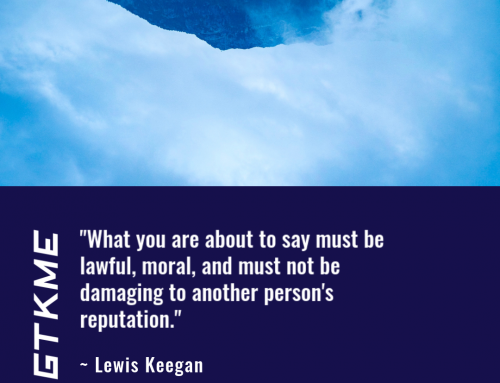 """""""Expressing my right to free speech … is one of my fundamental human rights"""" ~ Lewis Keegan"""